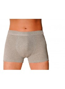 BOXER lavable intraversable GRIS (taille 2 Small)