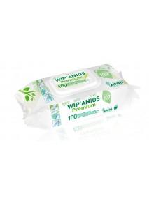 Lingettes x100 désinfectante et nettoyantes  de surface  WIP'ANIOS PREMIUM EXCEL