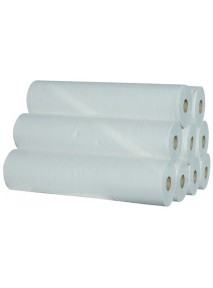 Draps d'examen x 9 Ouate 100% Gaufré  135 (50 x 35 cm) Blanc