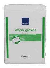 Abena - Gants de toilette (x50) pré-savonnés