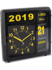 Horloge à date Visual