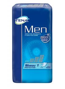 PROTECTIONS HOMMES X24 TENA MEN (NIVEAU 1) FOR MEN