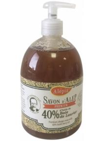 SAVON LIQUIDE ALEP PREMIUIM 40% (500ML)