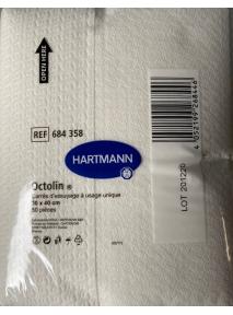 Carrés d'essuyages x50 (30x40) Octoline