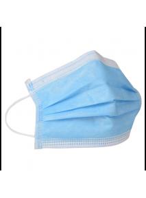 Masque chirurgical Type IIR, 3 plis, à élastiques