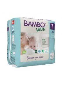 X22 Couches Bébé 2 À 4 Kg - BAMBO NATURE