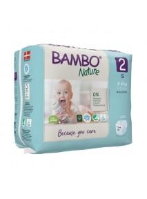 X30 Couches Bébé 3 À 6 Kg - BAMBO NATURE