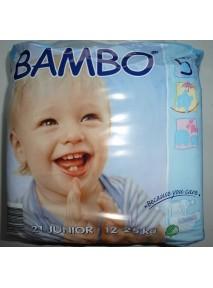 Couches Bébé (12 à 25 kg ) Junior MAXI  BAMBO
